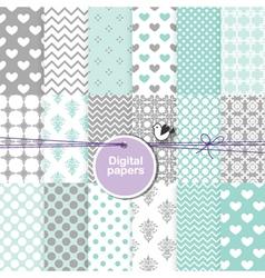 Digital paper - seamless pattern vector