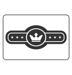 Champion belt icon 4 vector