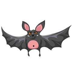 Cartoon character rattlemouse vector