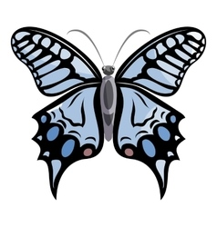 Light butterfly icon cartoon style vector