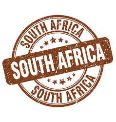 South africa stamp vector