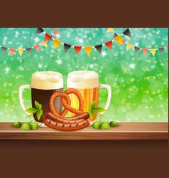 Beer realistic vector
