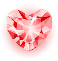 Diamond heart final vector