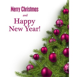 New year and xmas card vector