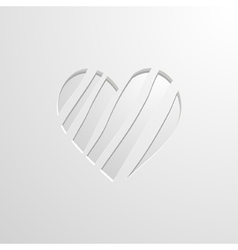 Background with a heart vector