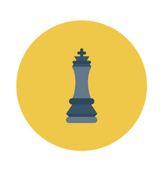 Business strategy plan game chess vector