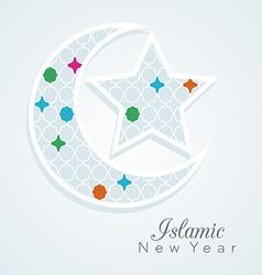 Islamic new year vector