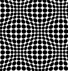 warp dots vector image