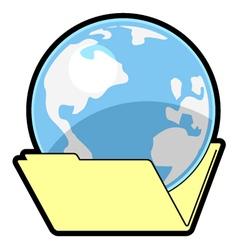 World folder vector