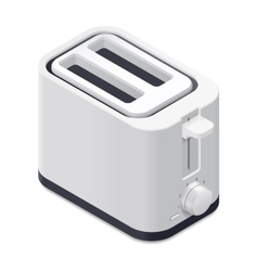 Toaster detailed isometric icon vector