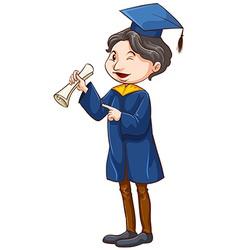 A graduate vector