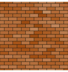 Abstract brick pattern vector image