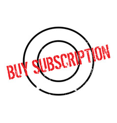 Buy subscription rubber stamp vector