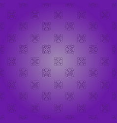 Lilac gradient background with a pattern of shapes vector