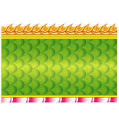 naga scale vector image