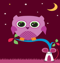 Owl-in-the-night-1 vector