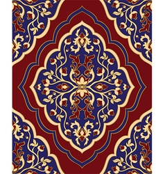 Template for oriental carpet vector image vector image