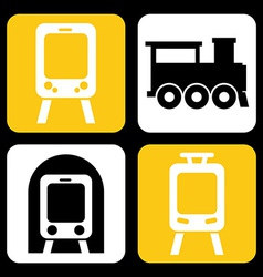 train design vector image