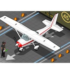 White plane vector