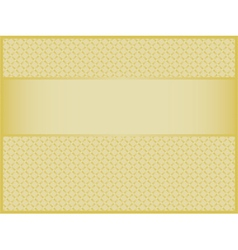 Golden holiday background vector