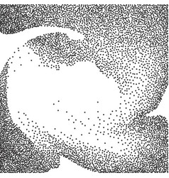Halftone pattern or texture vector