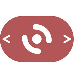Smart phone vibrating icon vector