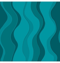 Wavy blue lines seamless vector image