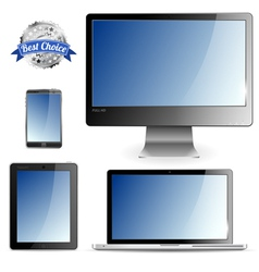 Computer devices vector