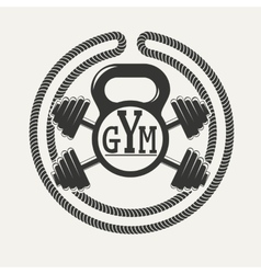 Gym logo vector