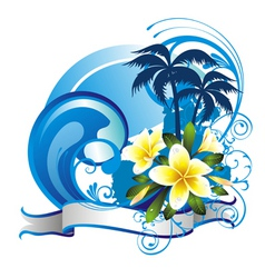 Summer illustration vector