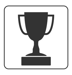 Trophy cup icon 1 vector