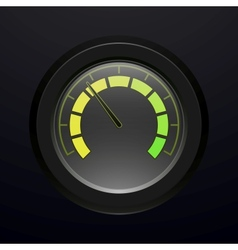 Digital tachometer vector