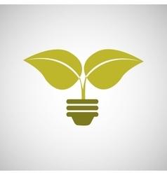 ecology concept design vector image