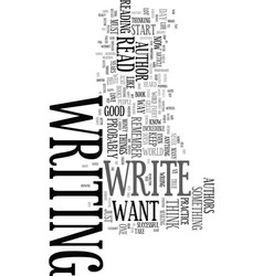 You could be an author text word cloud concept vector