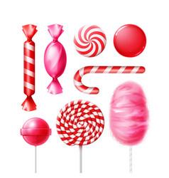 Set of candies vector