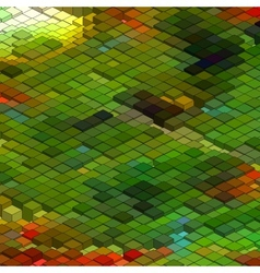 Abstract 3d colorful background vector image