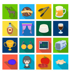 Achievement medicine nature and other web icon vector