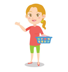 collection of mother character activity vector image