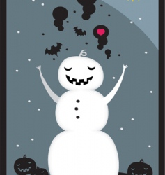 Snow hell vector