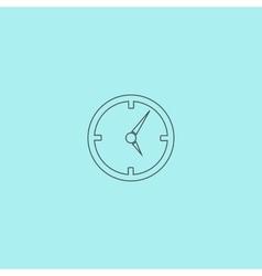 Circle Clock icon vector image vector image