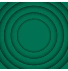 Concentric green 6 circle green background vector