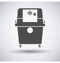 Vacum cleaner icon vector