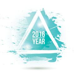 Watercolor-blue-year vector image