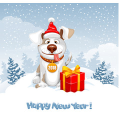 new year greeting vector image