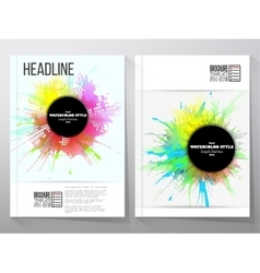Abstract circle black banners with place for text vector