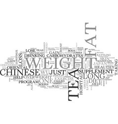 a new way to lose weight from the orient text vector image vector image