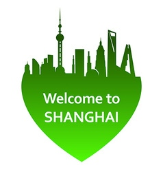 ShanghaiW vector image