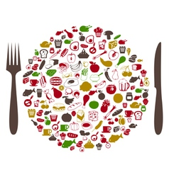 Food2 vector image
