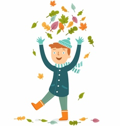 Fall leisure vector