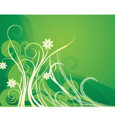 floral image vector image vector image